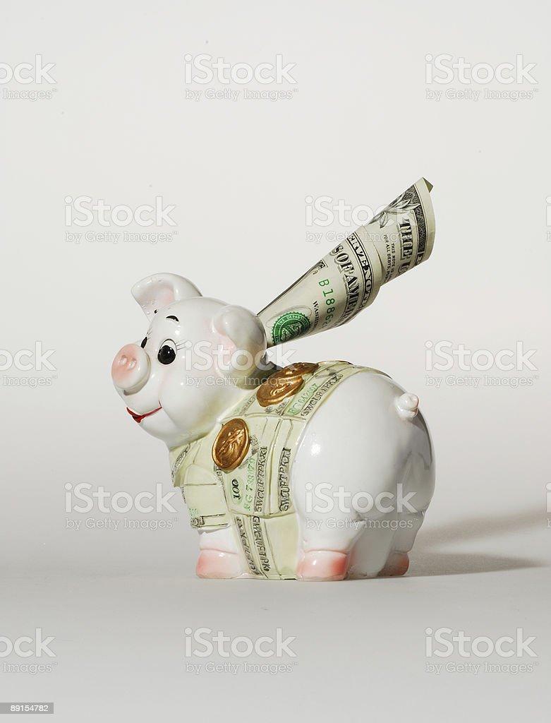 Money-box royalty-free stock photo