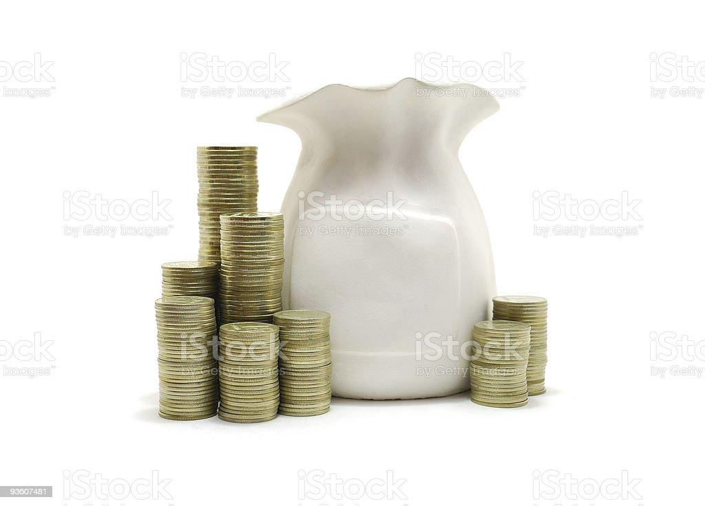 Moneybox royalty-free stock photo