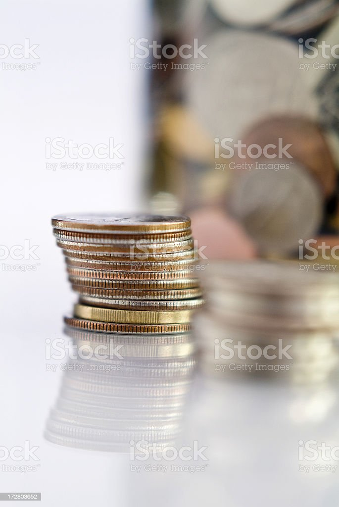 MoneyTip Jar Series royalty-free stock photo
