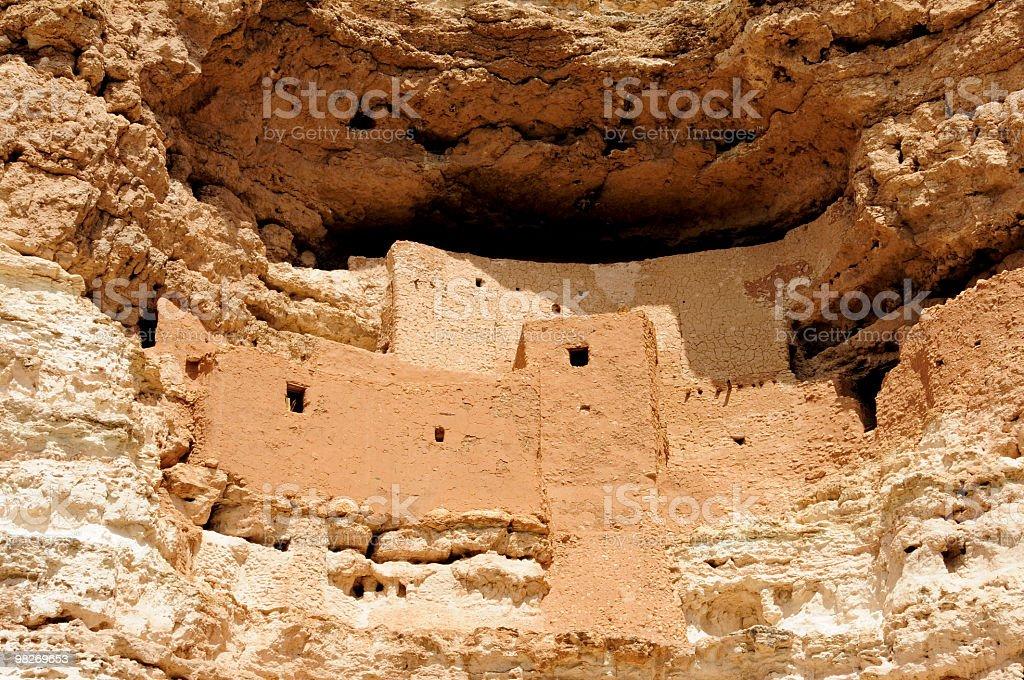 Monezuma Castle close-up royalty-free stock photo