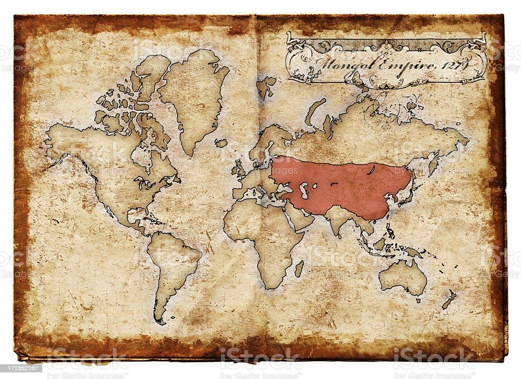 Mongol Empire XXL royalty-free stock photo