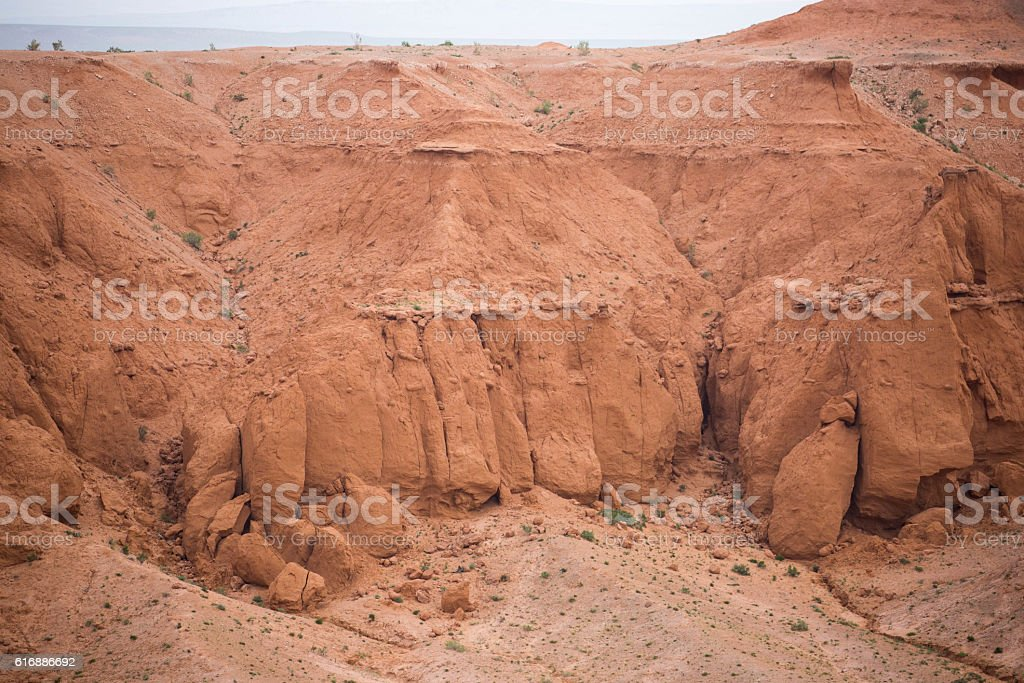 Mongolia: Flaming Cliffs stock photo
