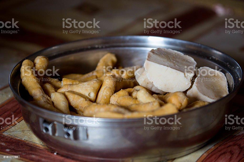 Mongolia: Traditional Food stock photo