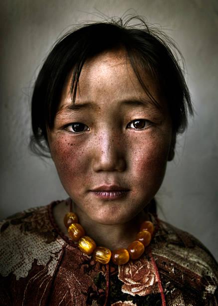 mongolische mädchen portrait - rawpixel stock-fotos und bilder