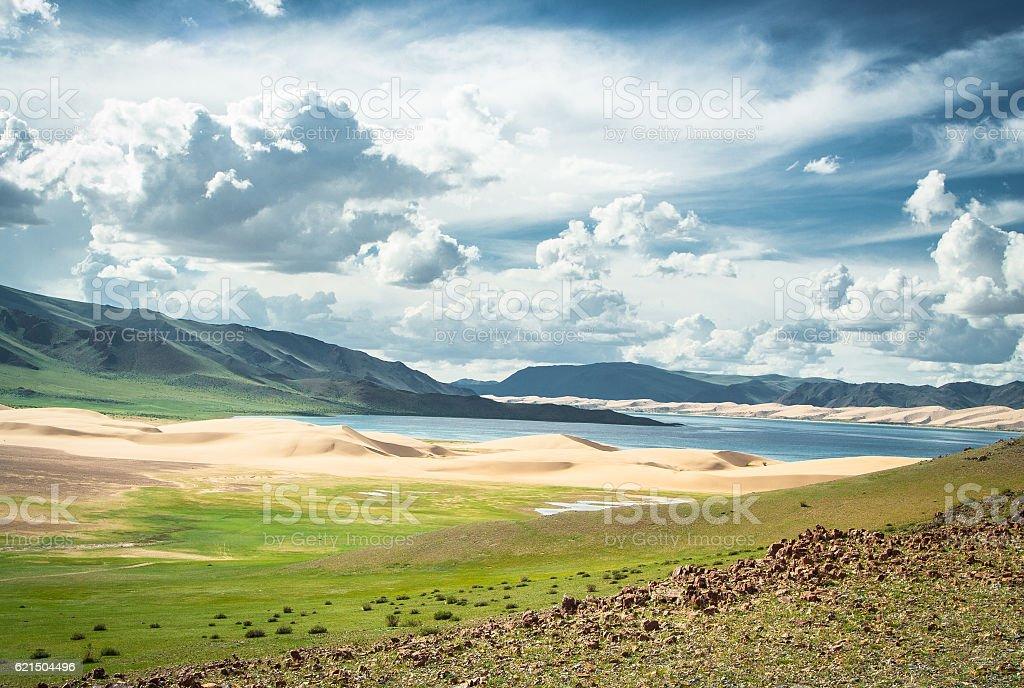 Paesaggio Mongolo  foto stock royalty-free