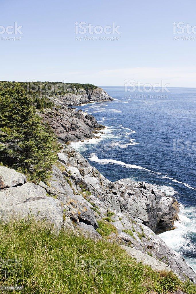 Monhegan Island, Maine - Royalty-free Atlantic Ocean Stock Photo