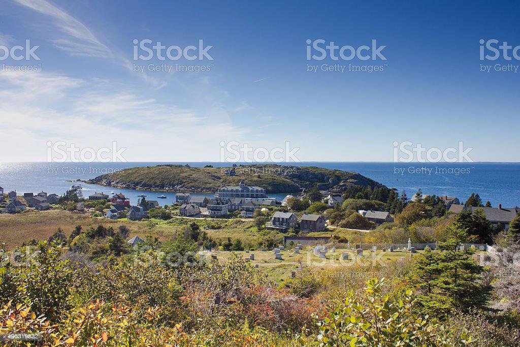 Monhegan Island - Royalty-free 2015 Stock Photo