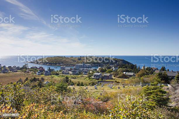 Monhegan Island Stock Photo - Download Image Now