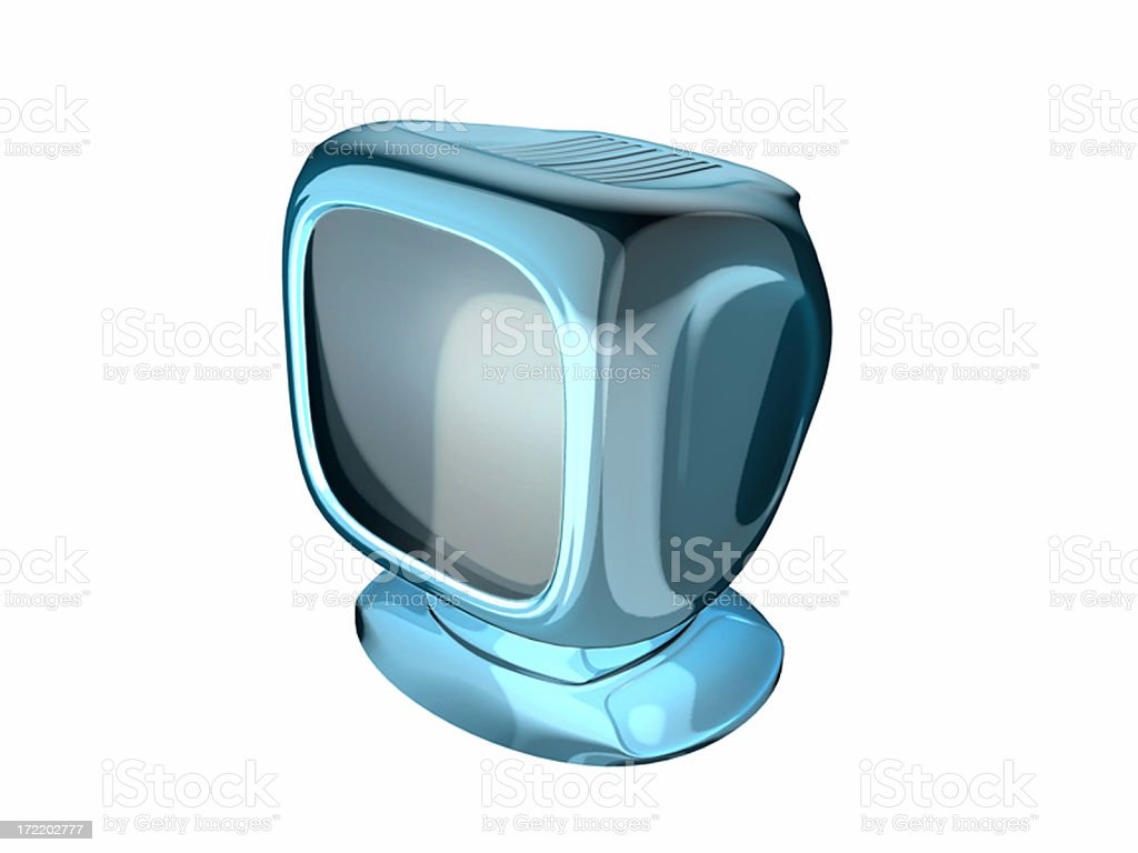 Monitor 02 royalty-free stock photo