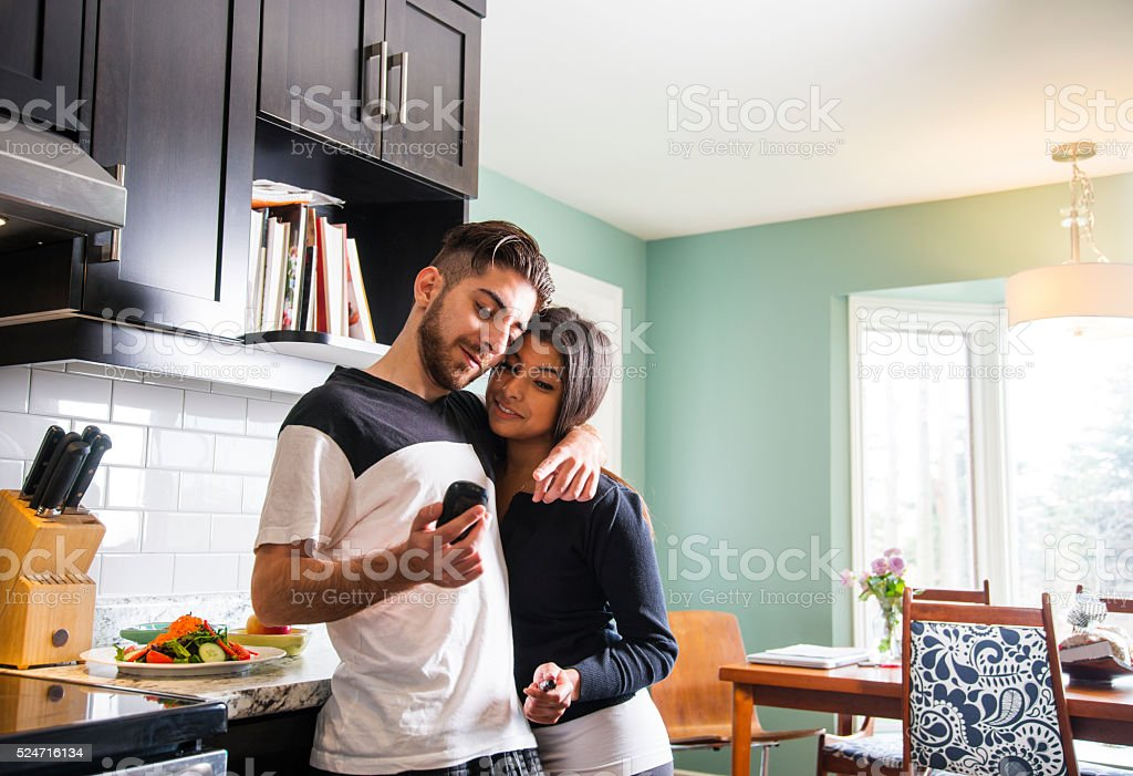 Monitoring diabetes levels at home. stock photo