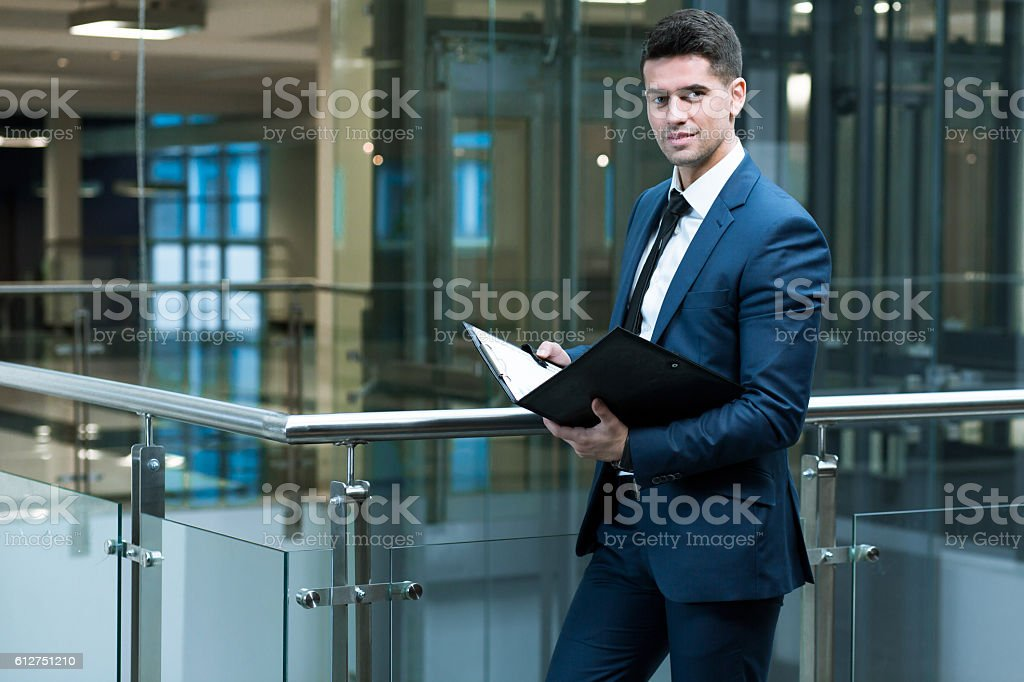 Monitoring the last sales results stock photo