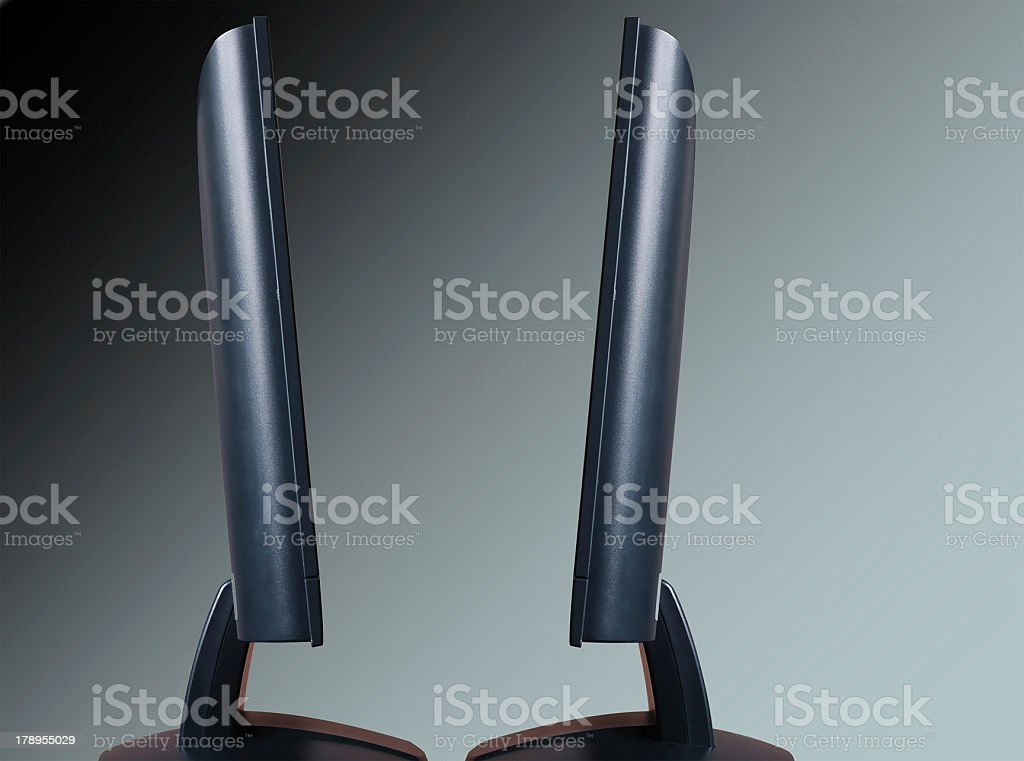 monitors stock photo