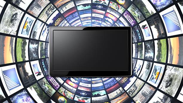 monitore tunnel - maus video stock-fotos und bilder