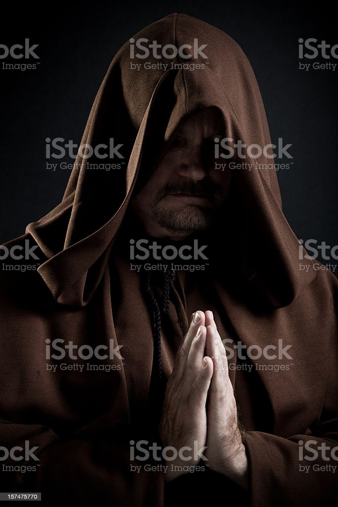 Monk stock photo