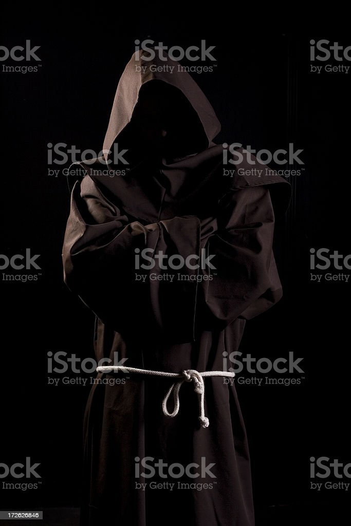 Monk stock photo