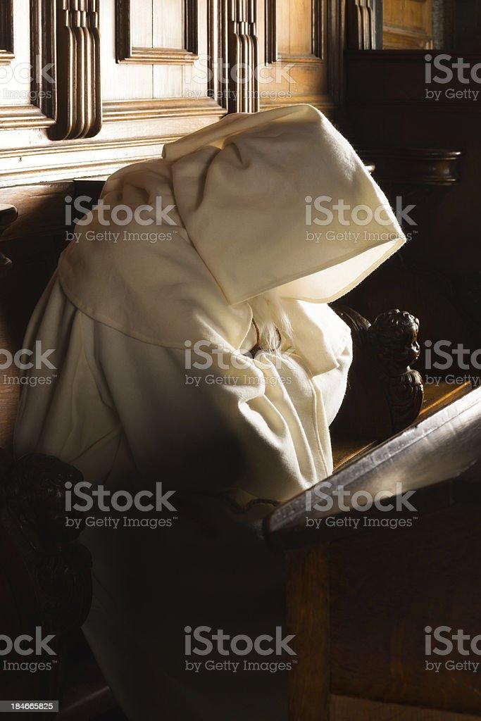 Monk com capuz - foto de acervo