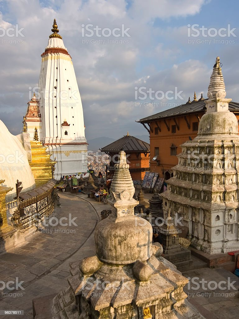 Monkay Temple royalty-free stock photo