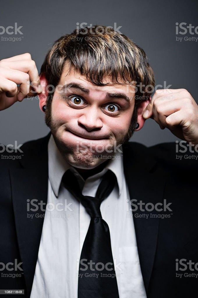Monkey Business Portrait stock photo