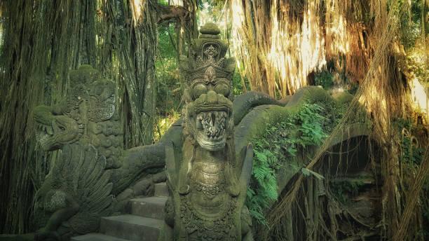 Affenwald in Bali, Indonesien – Foto