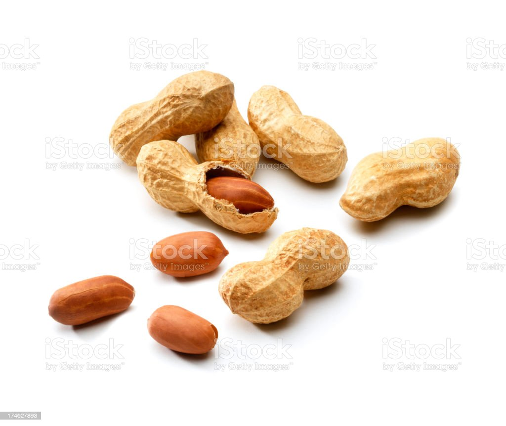 Monkey Nuts stock photo