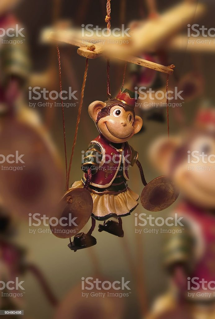 Monkeys for Hire royalty-free stock photo