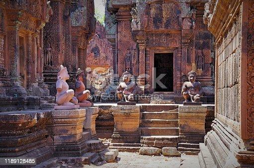 Angkor - UNESCO World Heritage site. Cambodia, Siem Reap