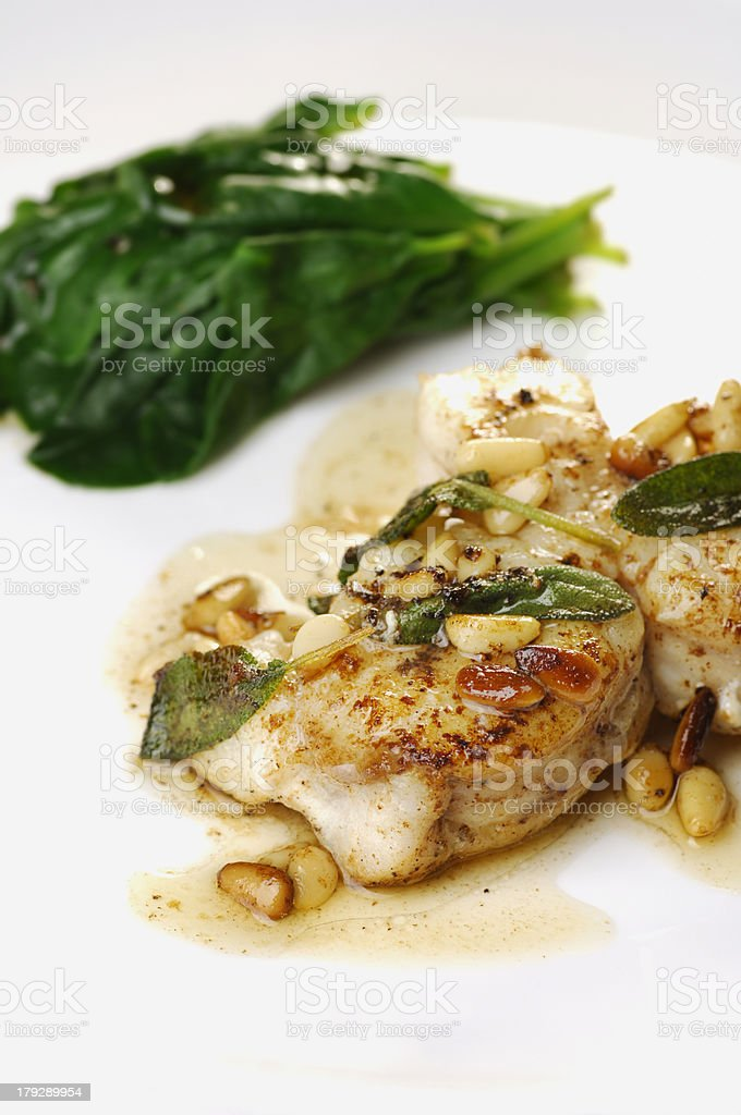 Monkfish royalty-free stock photo