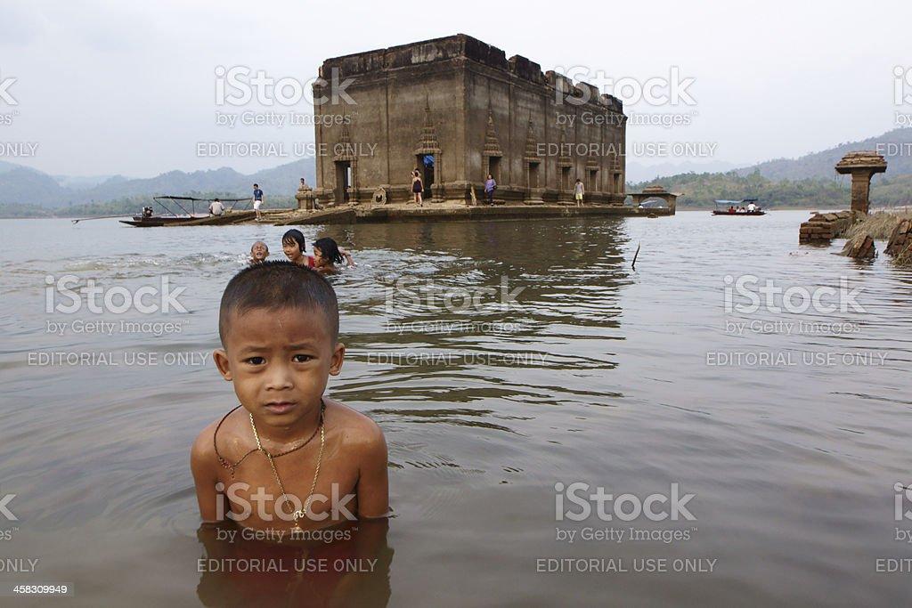 Mon-khmer child royalty-free stock photo