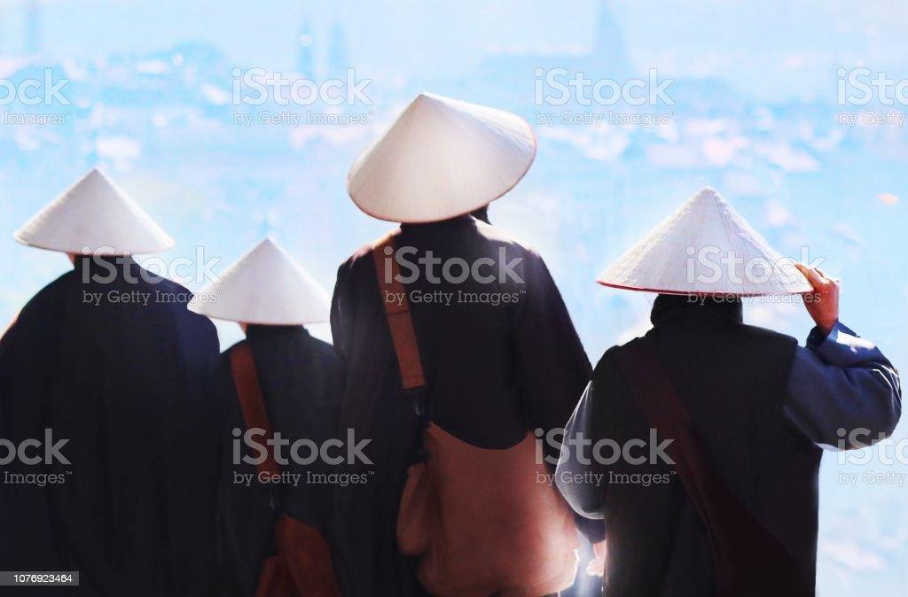 Contemplation des moines - Photo