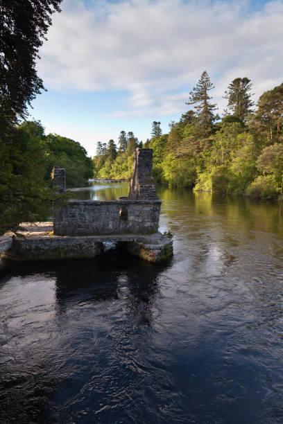 Monk's Fishing House, Cong, County Mayo, Ireland stock photo