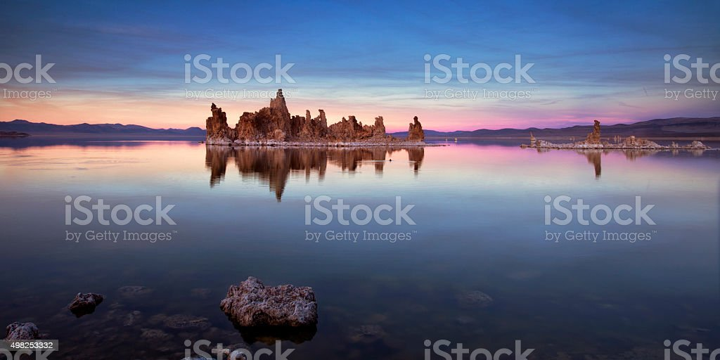 Mono Lake Blue stock photo