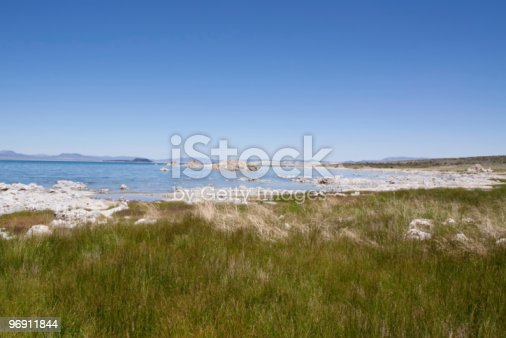 Mono Lake In California Stock Photo & More Pictures of California