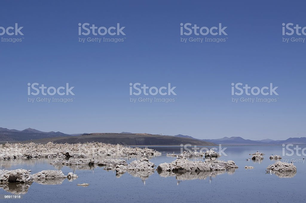 Mono Lake in California royalty-free stock photo