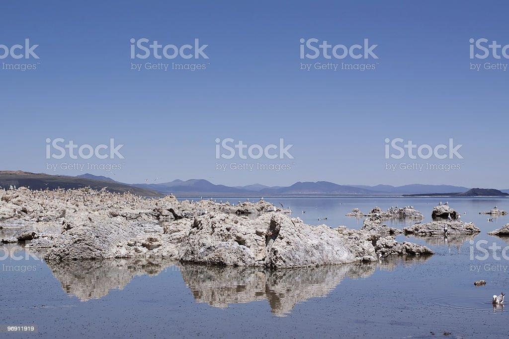 Mono Lake in California royalty-free stock photo