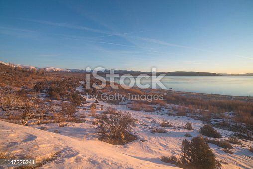 Agricultural Field, California, Lake, Land, Meadow