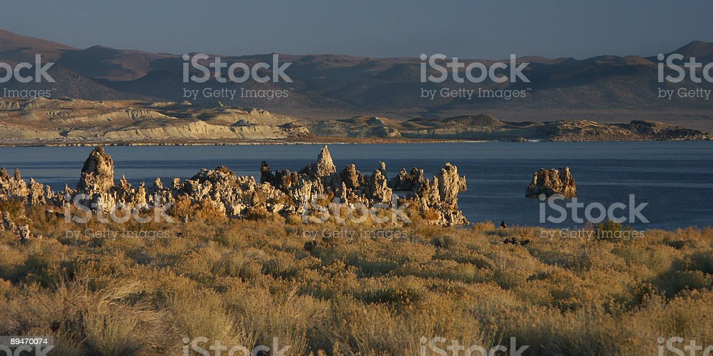 Mono Lake royalty-free stock photo