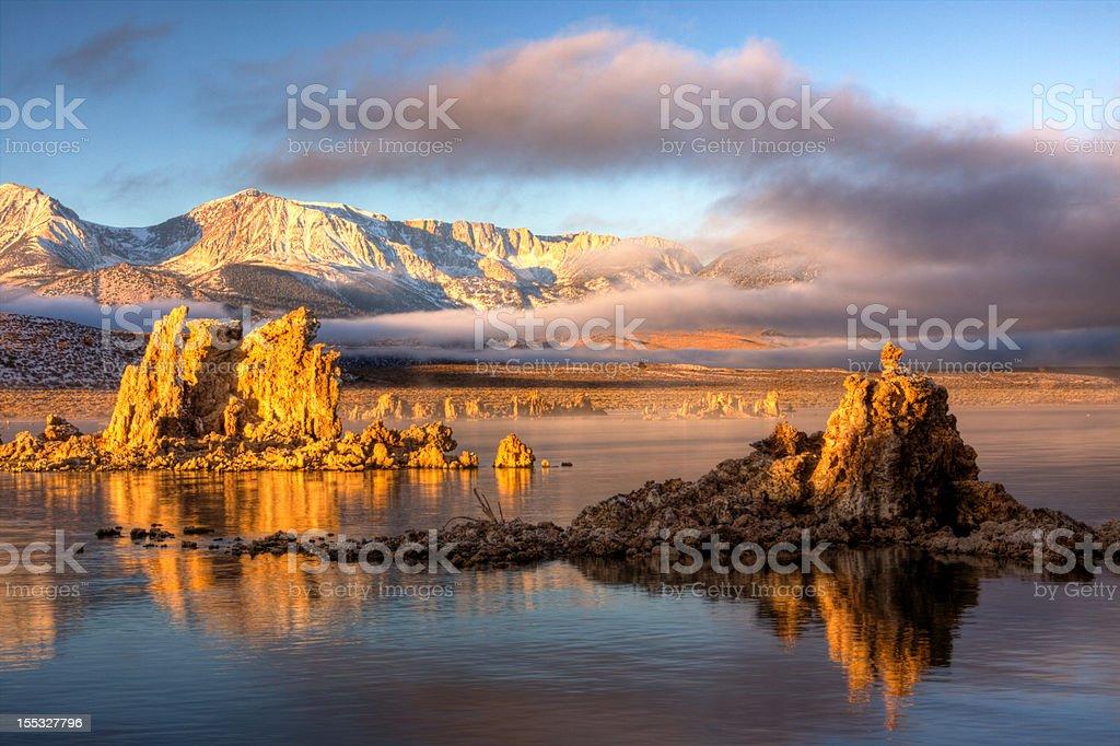 Mono Lake Sunrise 3 stock photo