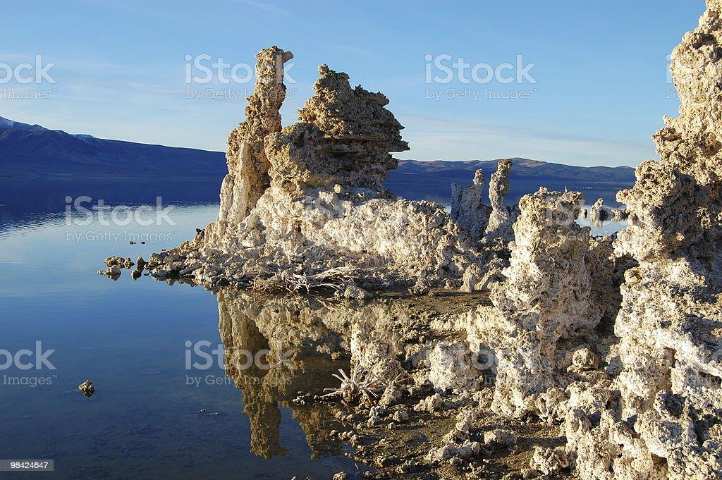 Mono Lake Tufa royalty-free stock photo