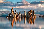 Tufa Formations at Mono Lake in California