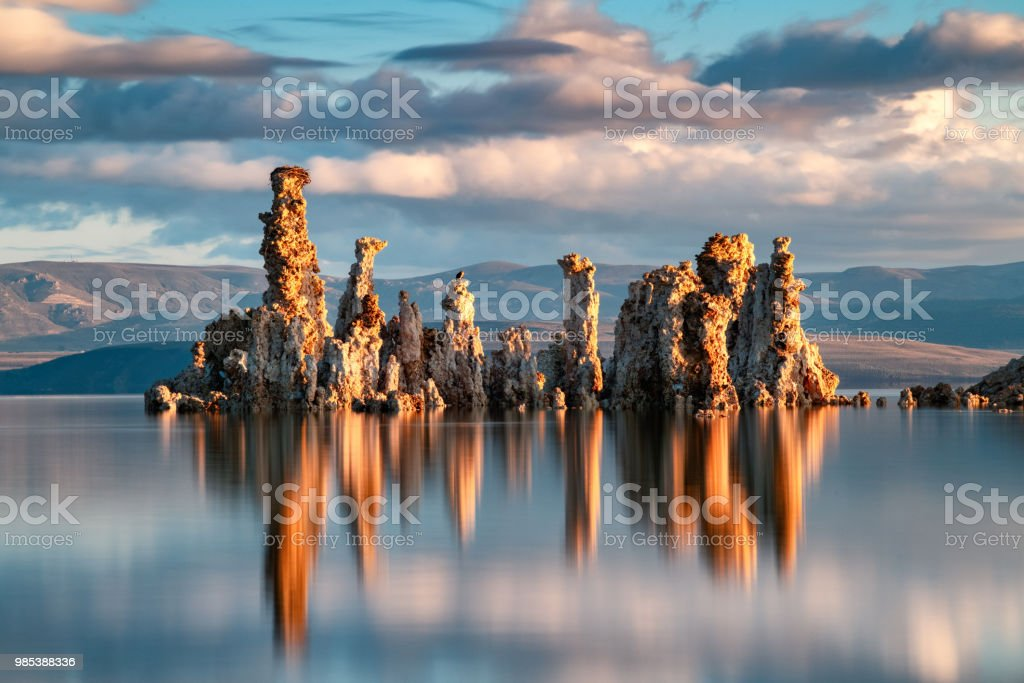 Mono Lake Tufa State Reserve stock photo