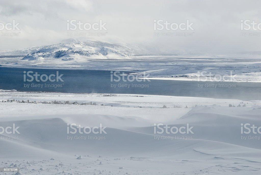 Mono Lake-series royalty-free stock photo