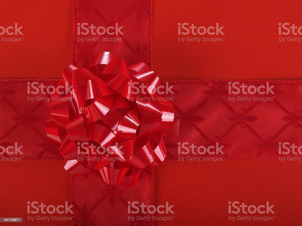 Monochromatic Red Wrap royalty-free stock photo