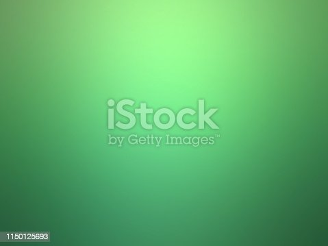 Monochrome green background.