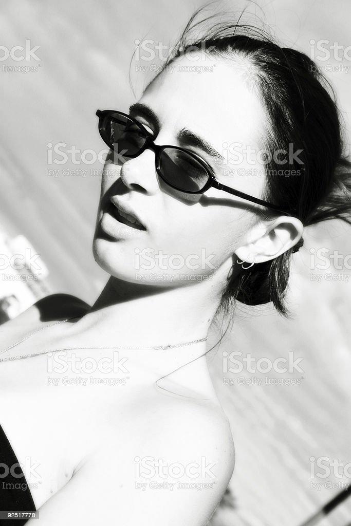 Monochrome Fashion stock photo