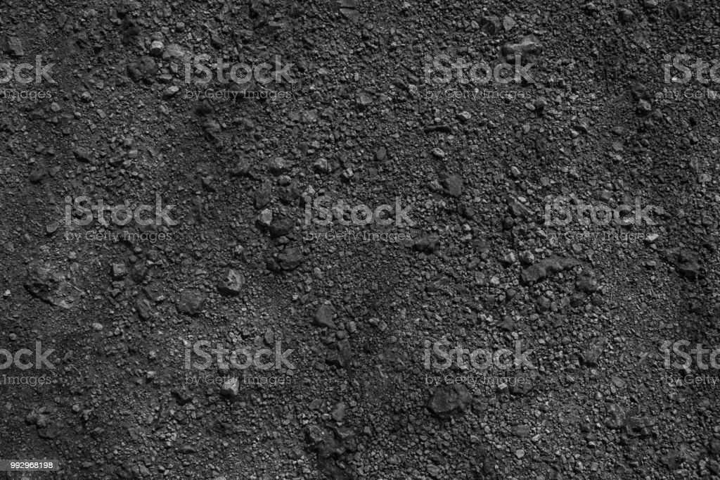 Monochrome Ground texture, sand surface, stone background, good for...