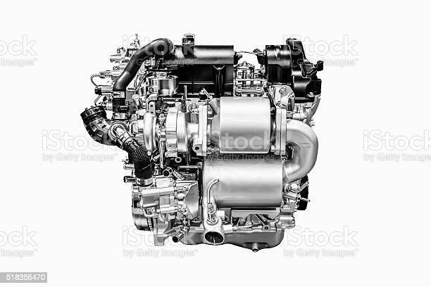 Monochrome of modern powerful car engine isolated on white background picture id518356470?b=1&k=6&m=518356470&s=612x612&h=b5v4rahknzh5dkwims9bpzkcet6dqxynhyjmn10ymve=