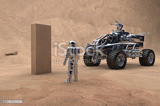 New phenomenon on Mars. New generation mars rover and colony life on the Mars.