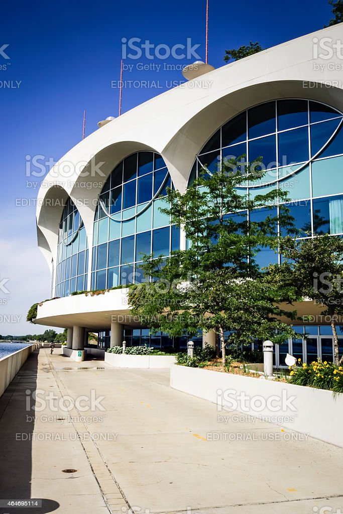 Monona Terrace Community and Convention Center Madison Wisconsin stock photo