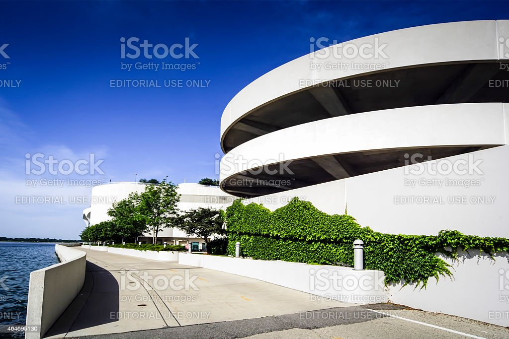 Monona Terrace Community and Convention Center Madison Wisconsin WI stock photo