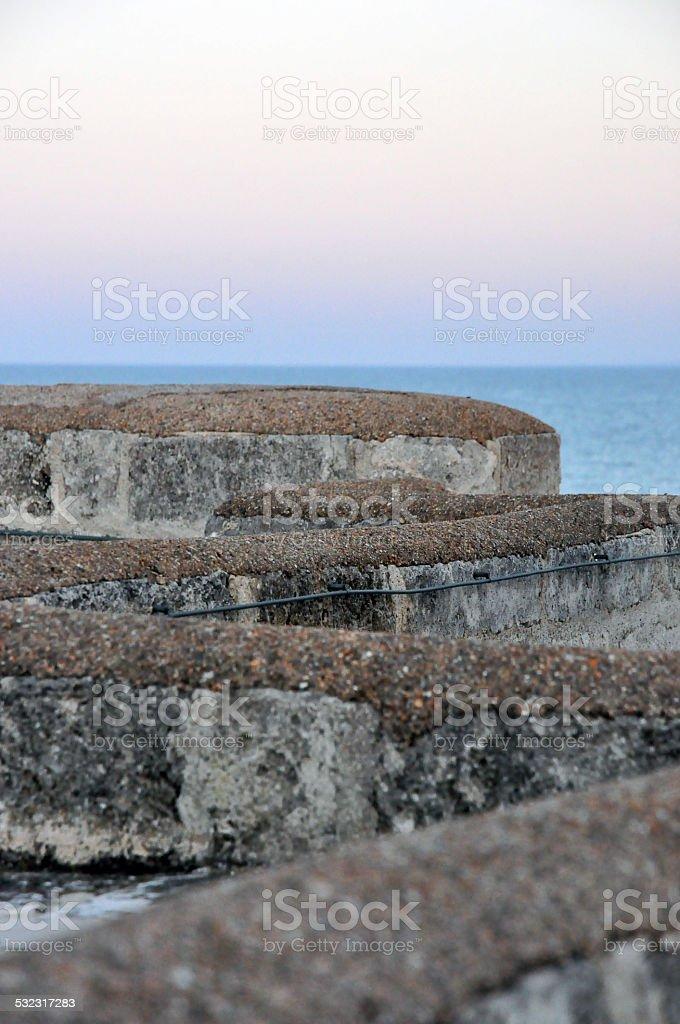 Monopoli small seaside town in Puglia stock photo